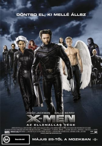 X-Men Az ellenállás vége mozi poszter
