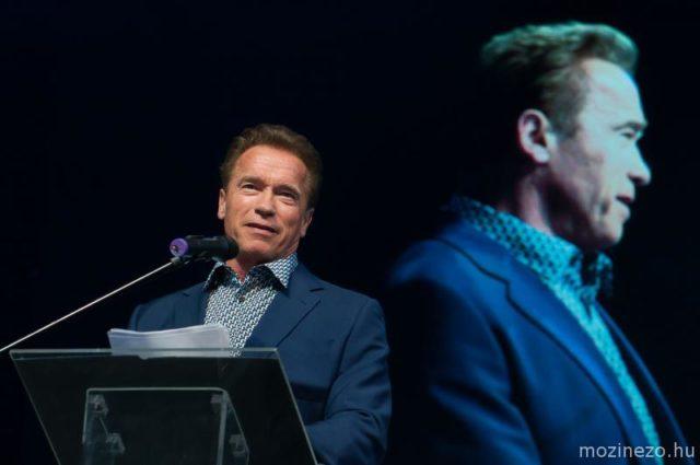 Arnold Schwarzenegger a budapesti Siker-Napon, Budapest Aréna, Fotó: Nagy János