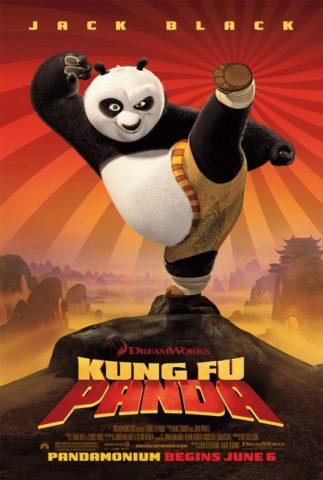 Kung Fu Panda mozi poszter
