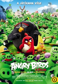 Angry Birds - A film-poszter