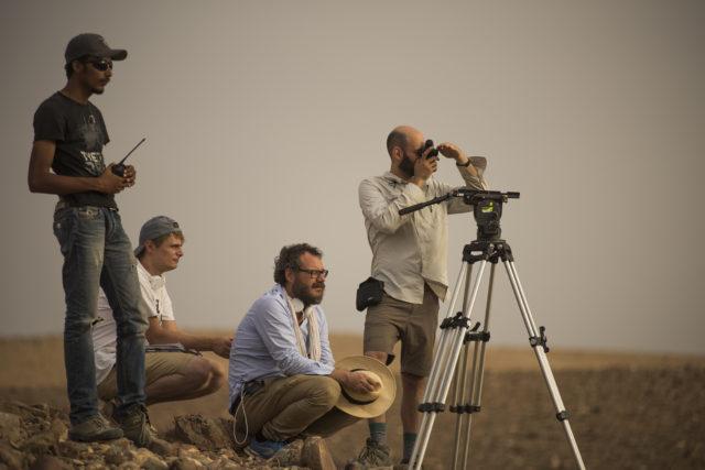 Tegnap filmforgatás