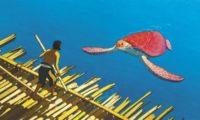 A vörös teknős filmjelenet